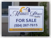 Market Place Realty For Sale Sign